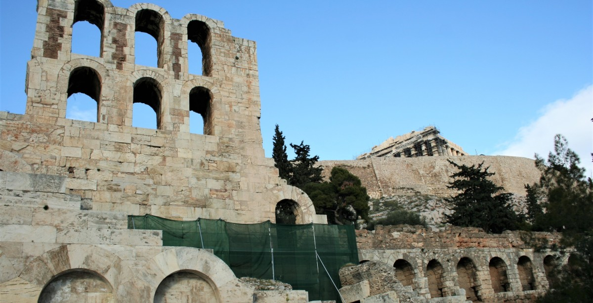 9. The Odeon of Herodes Atticus