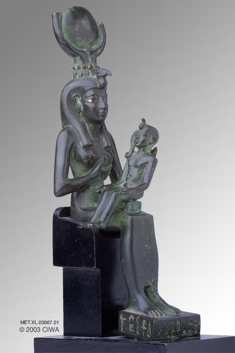 QUEEN Isitnefret as Isis-Hathor MET.XL.00867.01-1304-1237 bce, EGYPT
