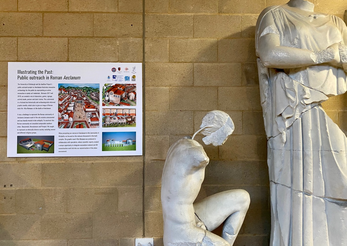 The Cambridge MCA Exhibition: Illustrating Ancient History- bringing the past to life